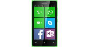 Microsoft Lumia 435 Front View