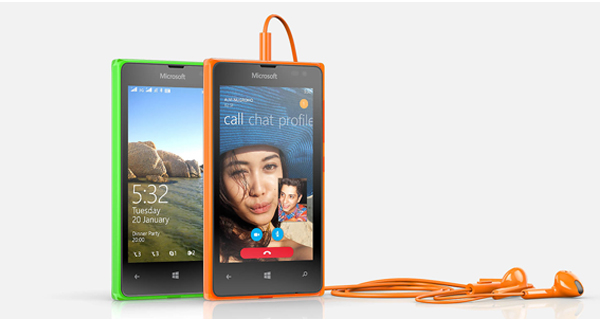 Microsoft Lumia 532 Dual Front View