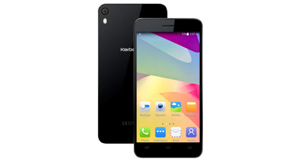 Karbonn Titanium Mach Two S360 Front & Back View
