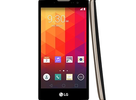 LG Spirit Front & Side View