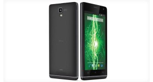 Lava Iris Fuel50 Front & Back View