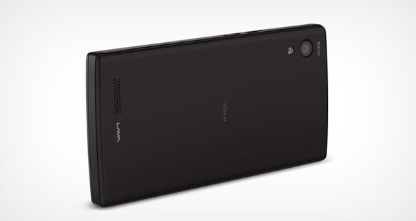 Lava Iris Fuel60 Back View