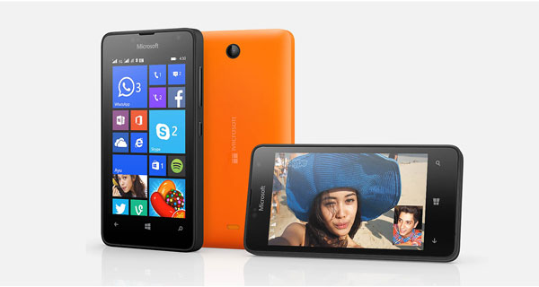 Microsoft launches the most affordable windows phone 'Lumia 430' in India at Rs. 5299