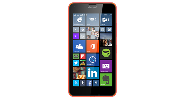 Microsoft Lumia 640 Dual Front View