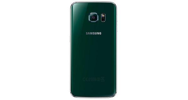 Samsung Galaxy S6 Edge Back View