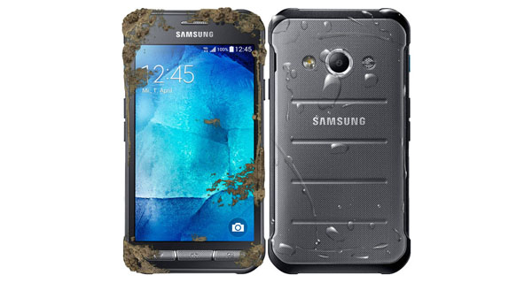 Samsung Galaxy Xcover 3 Front & Back View
