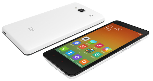 Xiaomi Redmi 2 Front & Back View