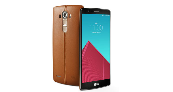 LG G4 Front and Back View