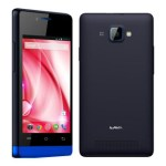 Lava Iris 370 Front and Back View