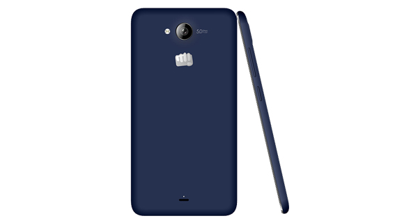Micromax Canvas Play Q355 Back and Side