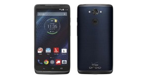 Motorola Droid Turbo Front and Back View