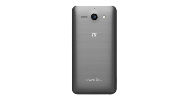 ZTE Grand S II Back View