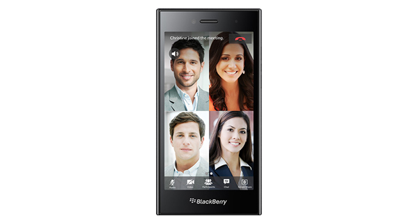 BlackBerry Leap Front View