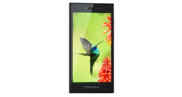 BlackBerry Leap Front