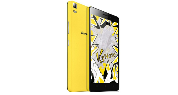 Lenovo K3 Note Music Front View