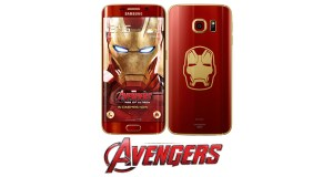 Samsung Galaxy S6 Avengers Edition Front View