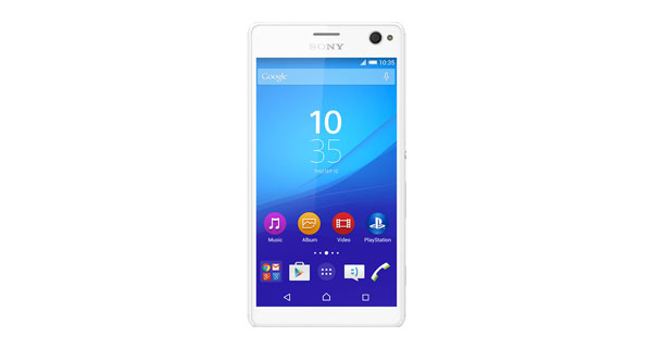 Sony Xperia C4 Front View