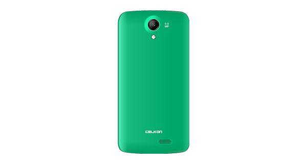 Celkon Millennia Q519 Green Back View