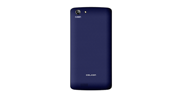 Celkon Millennia Q5K Power Back View