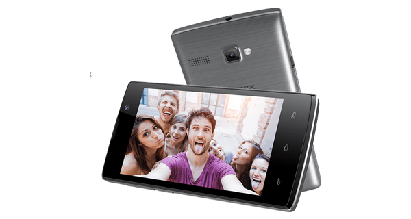Intex Aqua 3G Strong Front and Back View