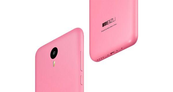 Meizu M2 Note Pink