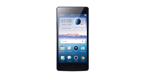 Oppo Neo 5s Black Front View
