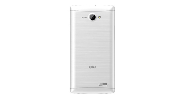 Spice XLife 404 Back Silver Color