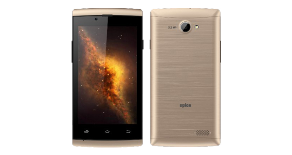 Spice XLife 404 Front and Back View
