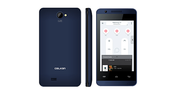 Celkon A35K Remote Overall