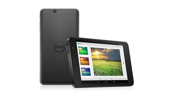Dell Venue 7-3741 Front and Back View