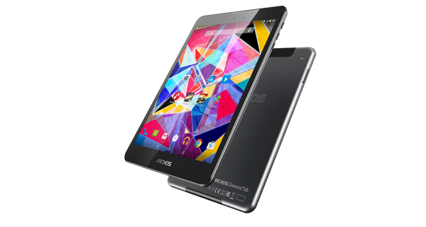 Archos Diamond Tab Front and Back View