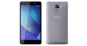 Huawei Honor 7i Front and Back