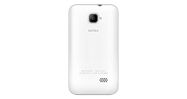 Intex Aqua V5 Back View