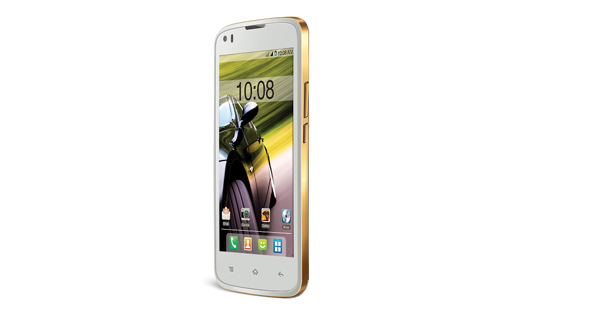 Intex Cloud Pace Front White Color