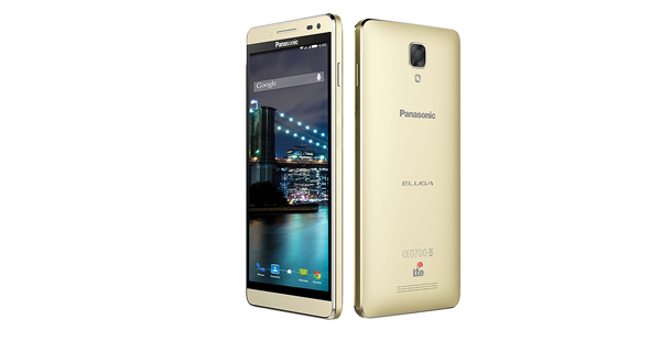 Panasonic Eluga I2 Front and Back View