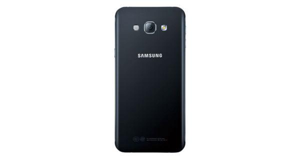 Samsung Galaxy A8 Back view