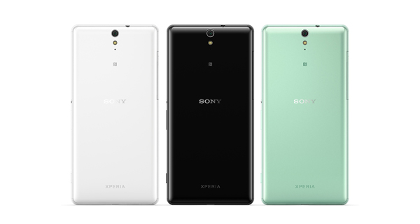 Sony Xperia C5 Ultra Dual Back View