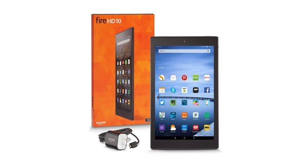 Amazon Fire HD 10 Overall View