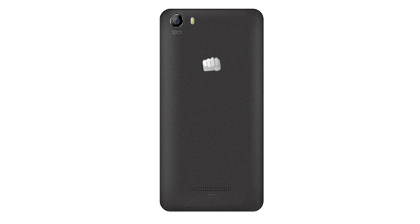 Micromax Canvas Spark 2 Back View