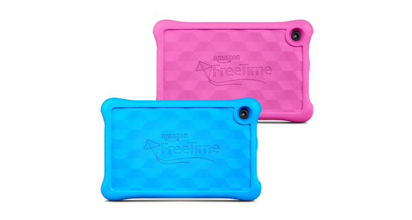 Amazon Fire Kids Tablet Back View