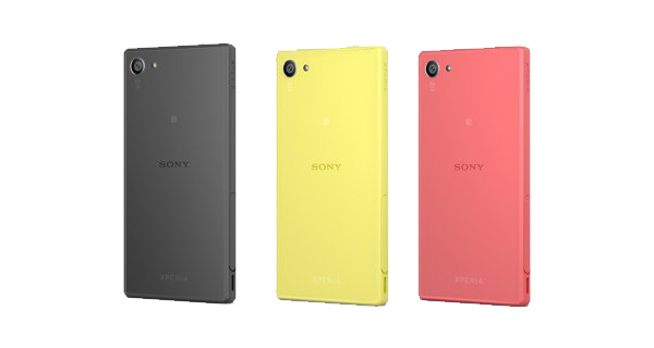 Sony Xperia Z5 Compact Back View