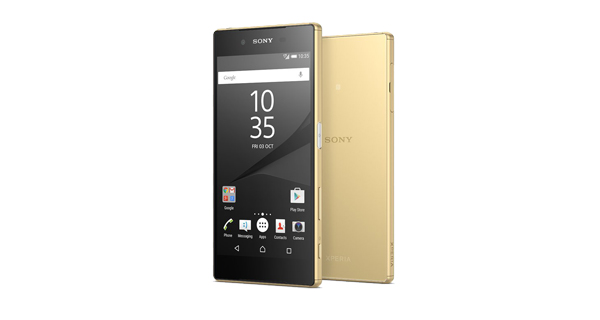 Sony Xperia Z5 Front and Back View