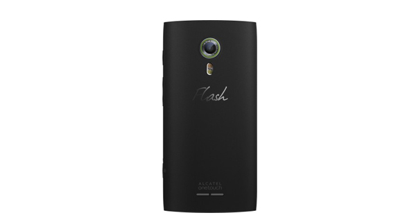 Alcatel One Touch Flash 2 Back View