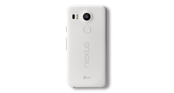 Google Nexus 5X Back View