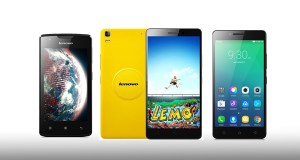 Lenovo A1000, Lenovo A1000 and Lenovo K3 Note Music
