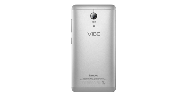 Lenovo VIBE P1 Back View