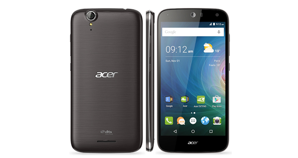 Acer Liquid Z630s Overall View