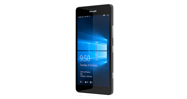 Microsoft Lumia 950 Dual SIM Front View