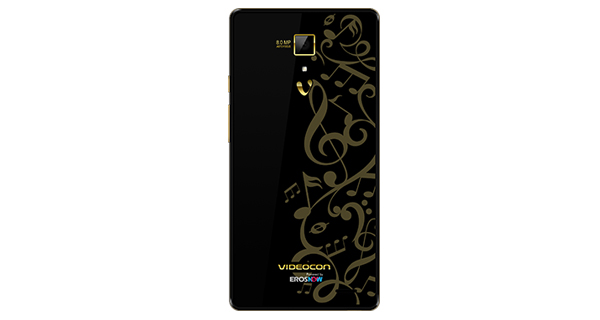 Videocon Z55 Delite Back View