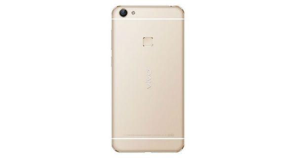 Vivo X6S Plus Back